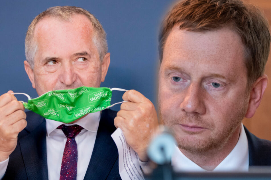 Infizierter Minister Schmidt: Auch MP Kretschmer weiter in Quarantäne
