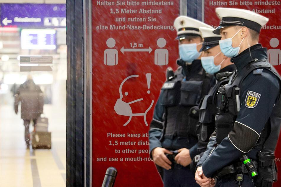 Hunderttausende Verstöße gegen die Maskenpflicht an Bahnhöfen und in Zügen