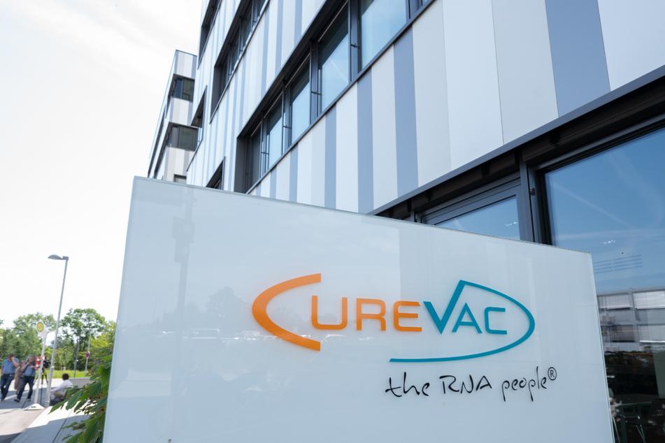 Die Curevac-Zentrale in Tübingen am Donnerstag.