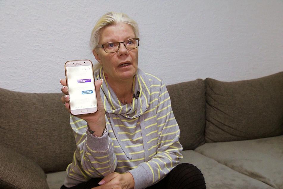 Beate zeigt in der nächsten Folge, was ihr regelmäßig geschrieben wird.