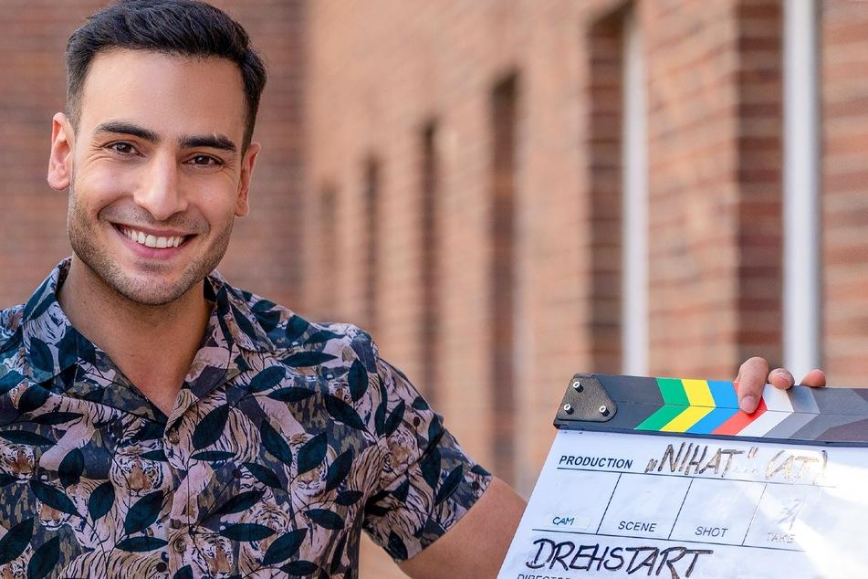 """Bis Ende Juni laufen die Dreharbeiten zu """"Nihat - Alles auf Anfang"""" mit Schauspieler Timur Ülker (31)."""