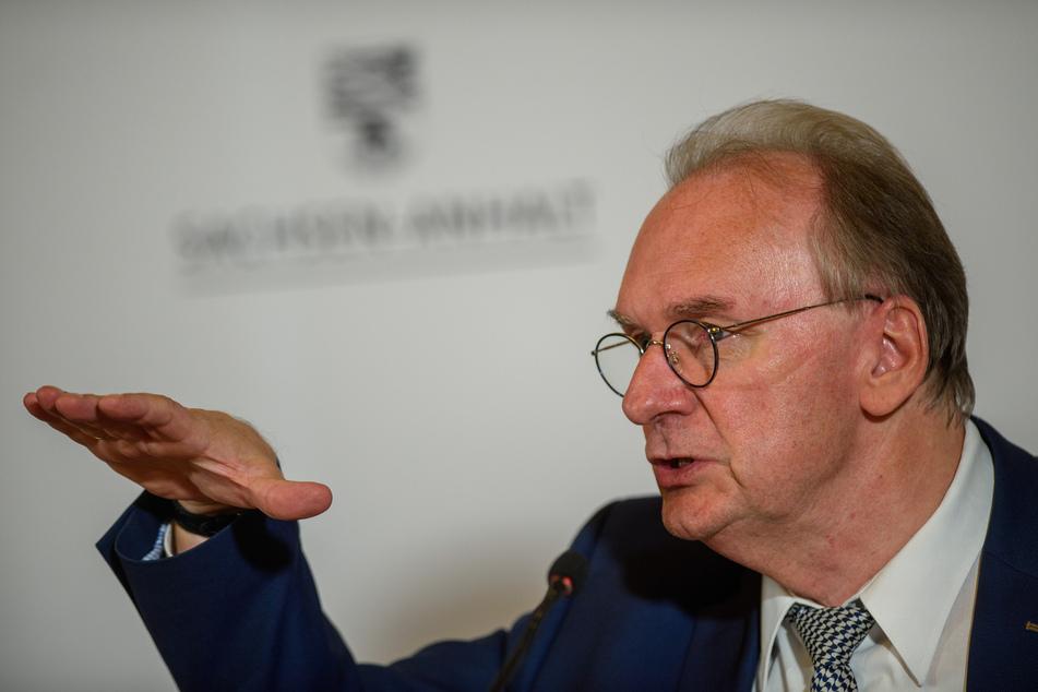 Reiner Haseloff (66, CDU), Ministerpräsident des Landes Sachsen-Anhalt.