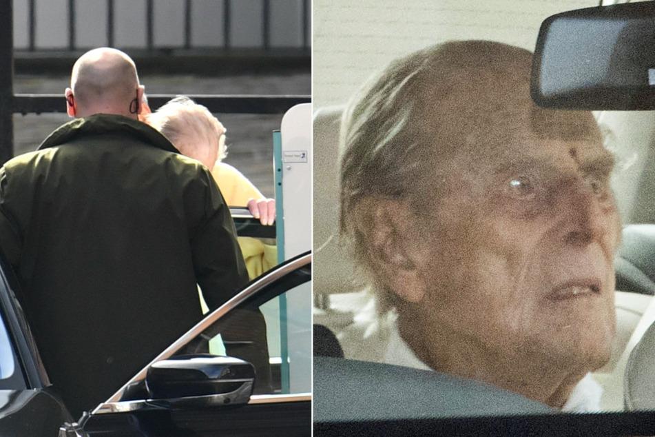 Nach Herz-OP: Prinz Philip aus Krankenhaus entlassen