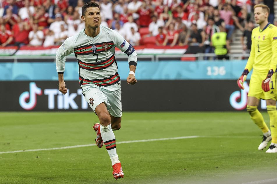 Lange Zeit am Verzweifeln, dann aber mit dem Doppelpack: Cristiano Ronaldo.