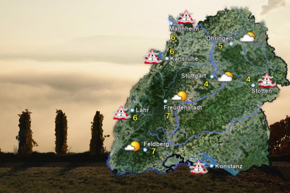 So wird das Wetter in Baden-Württemberg zum Start der neuen Woche