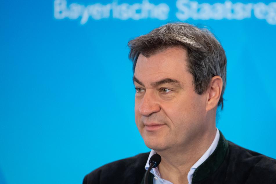 Markus Söder trifft sich mit Winfried Kretschmann.