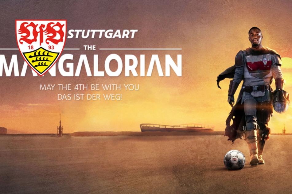 """VfB Stuttgart mischt mit Orel Mangala den """"Star Wars Day"""" auf!"""