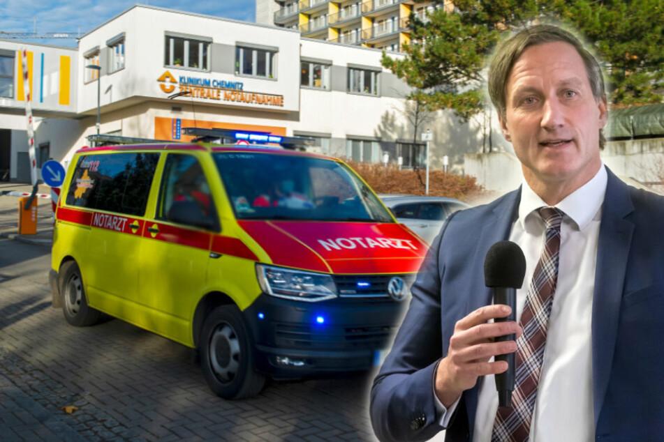 Weil das Krankenhaus an der Belastungsgrenze ist: Klinikums-Chef Dirk Balster (54) bittet jetzt die Bundeswehr um Hilfe.