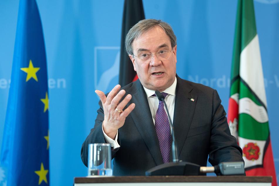 NRW-Ministerpräsident Armin Laschet (59) gab am Freitag ein Statement zur Coronakrise ab.