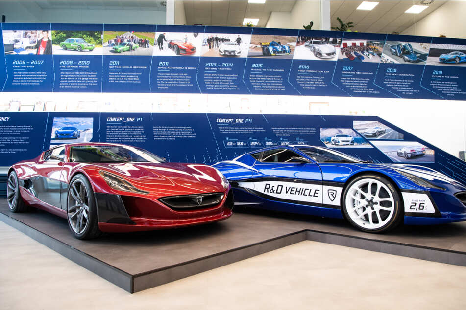 Porsche baut Beteiligung an kroatischem Supersportwagenbauer Rimac aus