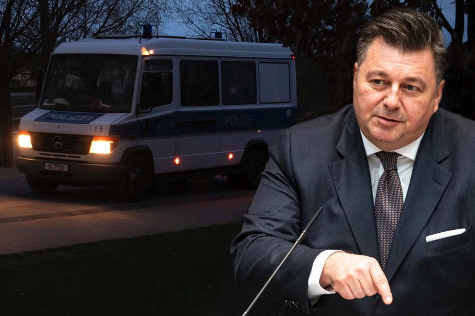 Berlins Innensenator Andreas Geisel (55, SPD) will den geltenden nächtlichen Kontaktbeschränkungen Nachdruck verleihen.