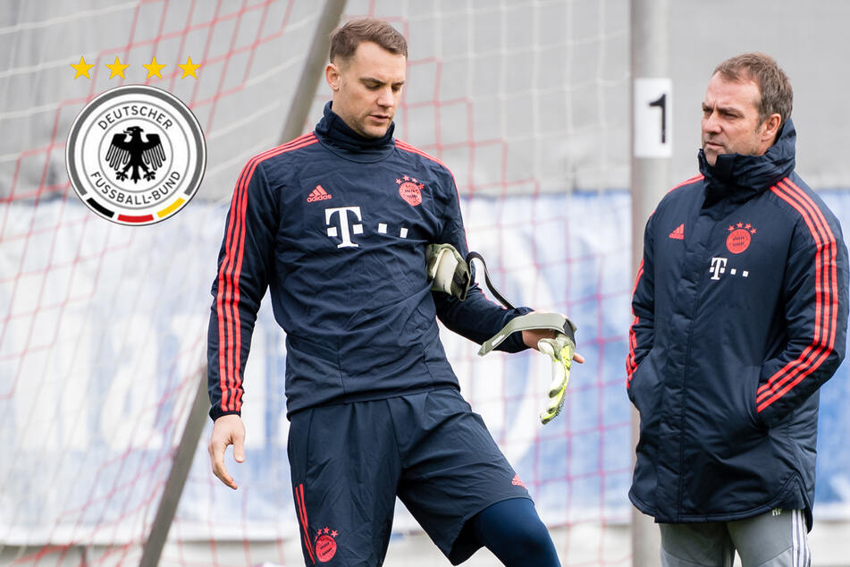Bundestrainer Hansi Flick? DFB-Kapitän Neuer meldet sich zu Wort