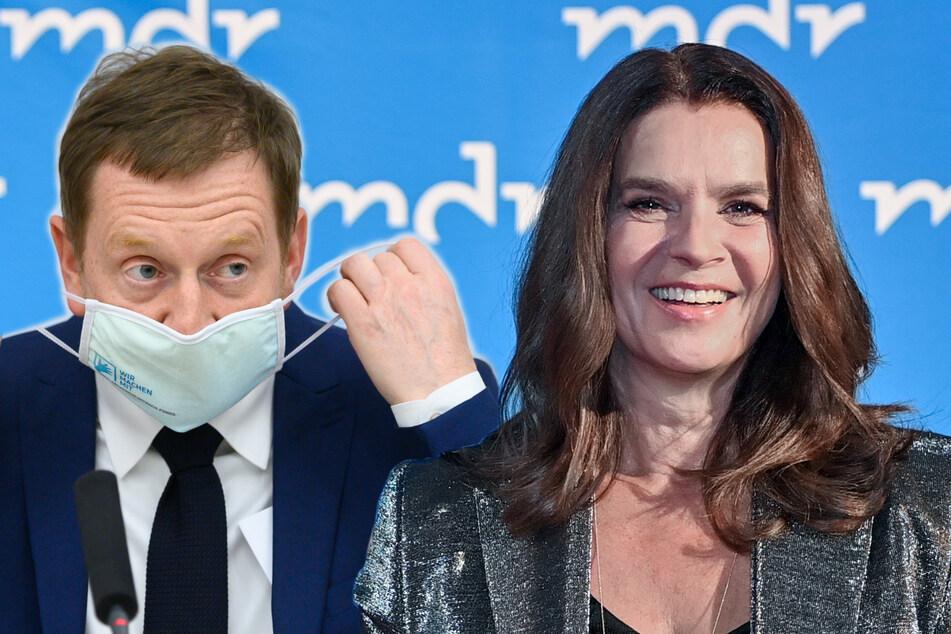 Wegen Kritik an Corona-Regeln: Michael Kretschmer will Katarina Witt treffen
