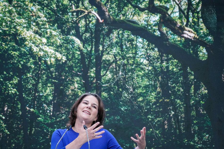 Annalena Baerbock (40), Kanzlerkandidatin und Bundesvorsitzende von Bündnis 90/Die Grünen.