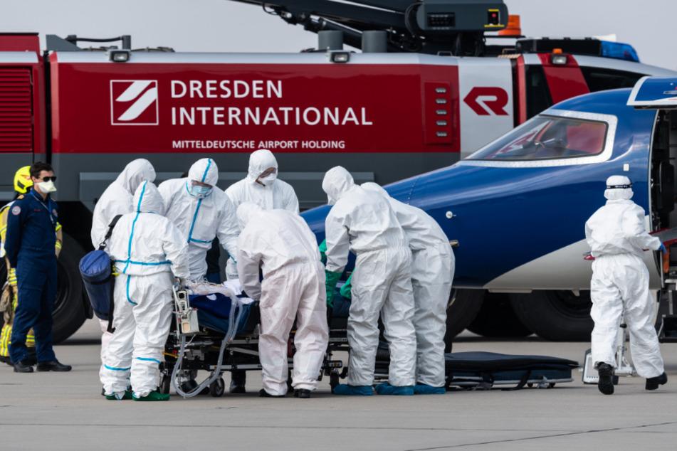 Der Patient kam aus Frankreich eingeflogen.