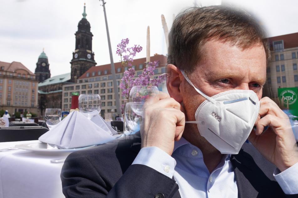 Ministerpräsident Kretschmer hält Wiedereröffnung von Gaststätten in Sachsen Ende Mai für denkbar