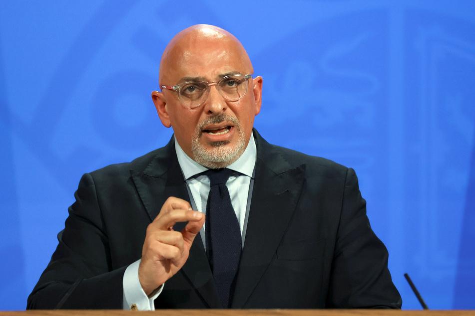 Nadhim Zahawi (54), Impf-Staatsekretär von Großbritannien.