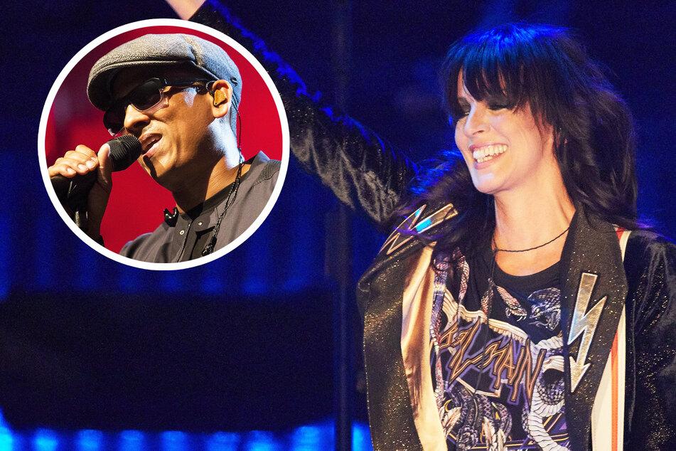 Herzchen von Xavier Naidoo: Wird Sängerin Nena etwa die nächste Aluhut-Trägerin?
