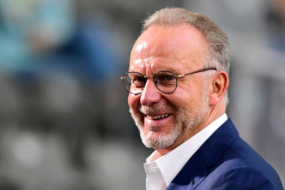 Mahnt zur Besonnenheit beim DFB: Bayern-Vorstandschef Karl-Heinz Rummenigge.