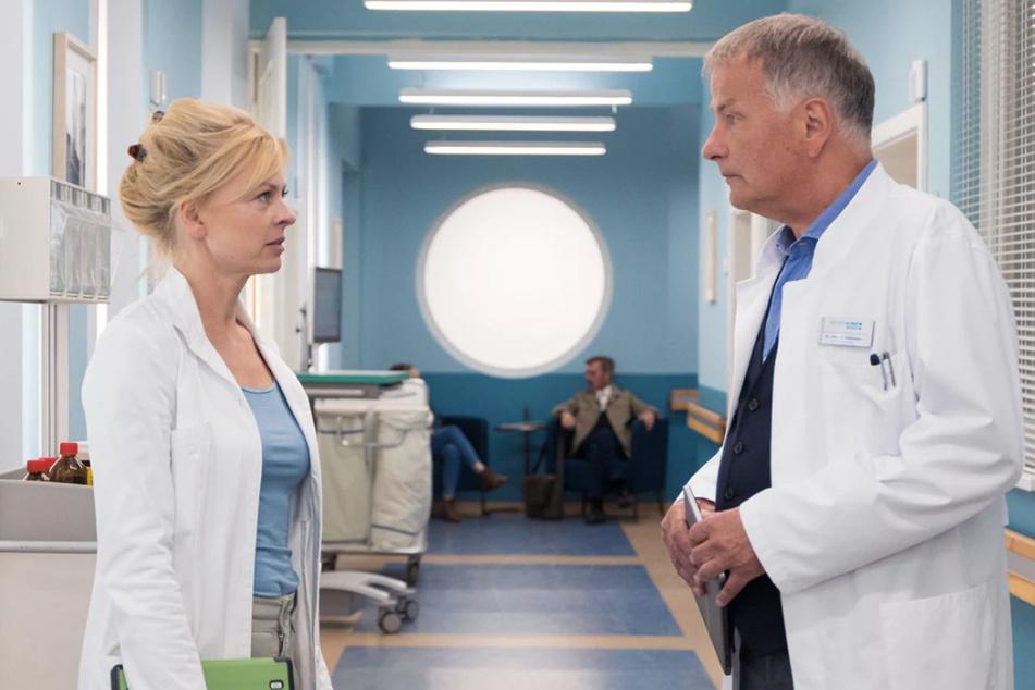 Dr. Ina Schulte und Dr. Roland Heilmann läuft die Zeit davon. Baby Feli geht es immer schlechter.