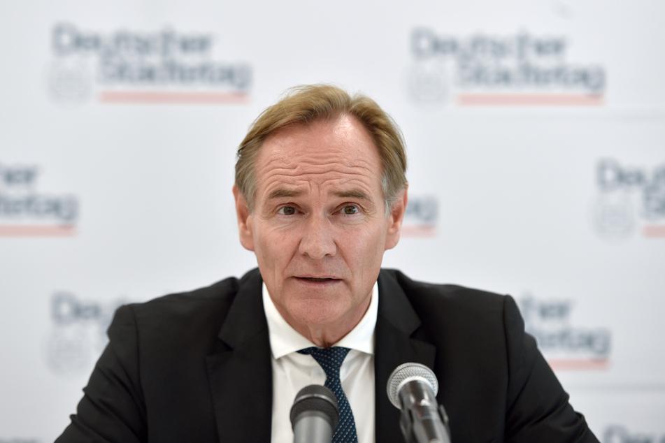Burkhard Jung (SPD), Oberbürgermeister der Stadt Leipzig und Präsident des Städtetages.
