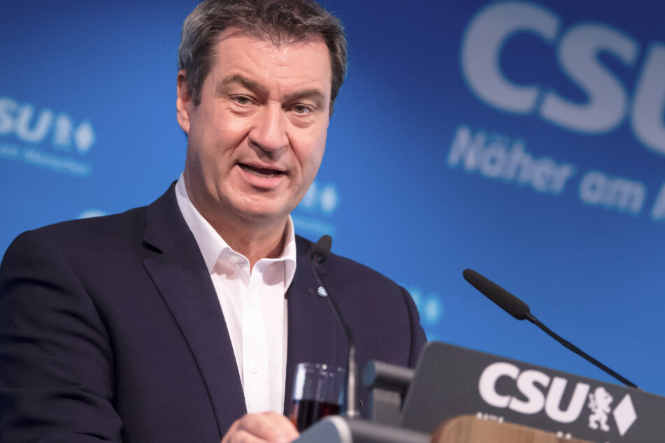 Markus Söder (53, CSU) ist aktuell Bayerns Ministerpräsident.