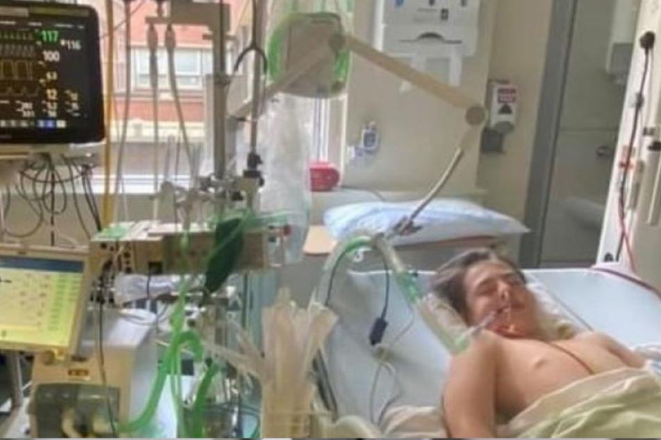 Ronnie (12) liegt nach dem Angriff im Krankenhaus.