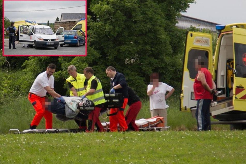 Zwei Mädchen von Auto erfasst und schwer verletzt