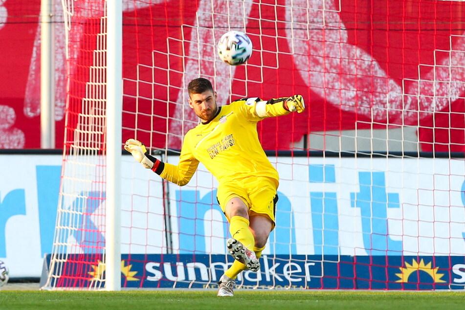 FSV-Kapitän und Torhüter Johannes Brinkies (27) will endlich die Sieglosserie in der Liga beenden und den Klassenerhalt sicher machen.