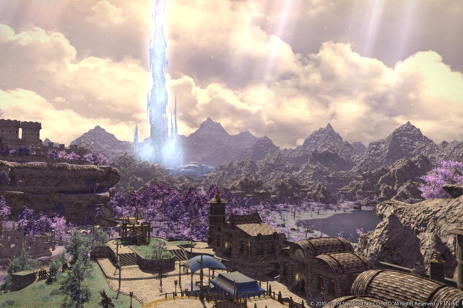 """Die Welt von """"Final Fantrasy XIV"""" ist gigantisch. Bei der Entstehung der Settings spielt laut Yoshida besonders das Internet eine große Rolle."""