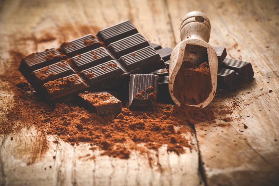 Schokolade essen, muss gelernt sein. (Symbolbild)