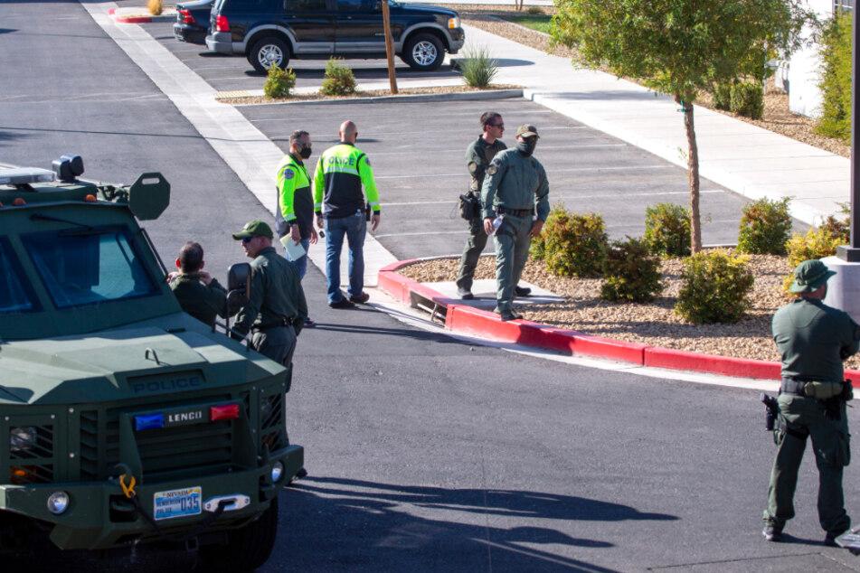 Schüsse in Wohnkomplex nahe Las Vegas: Vier Menschen gestorben
