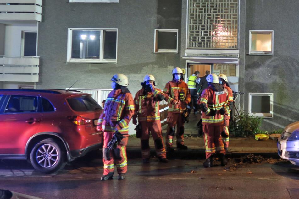Mann wird von Feuer überrascht, Nachbar rettet ihm das Leben