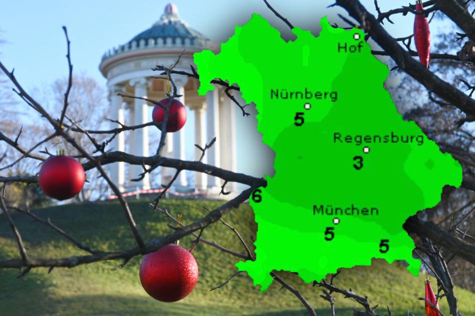 So wird das Wetter in Bayern am vierten Adventswochenende