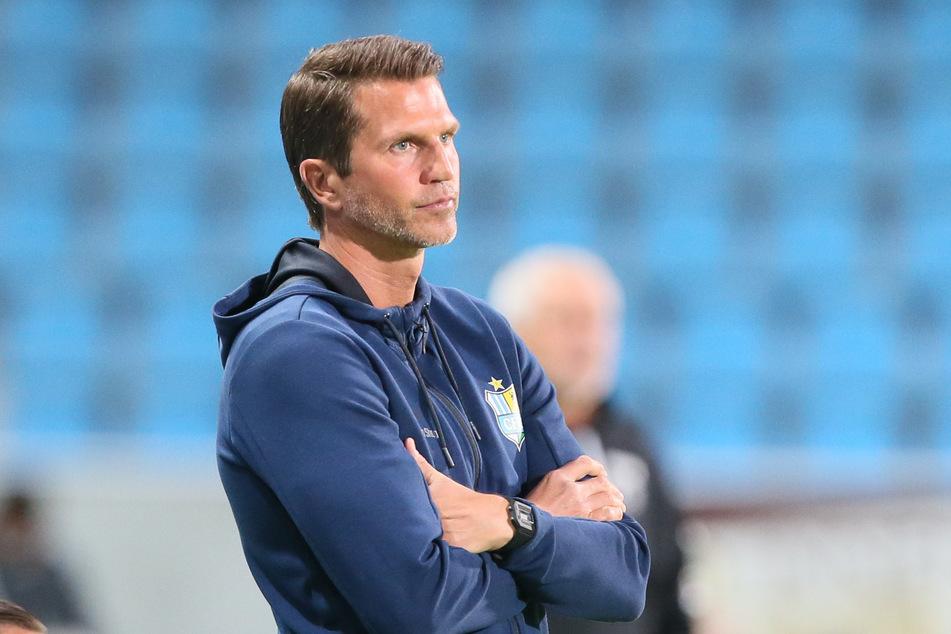 CFC-Coach Patrick Glöckner verpasst mit der Niederlage in Großaspach den Befreiungsschlag
