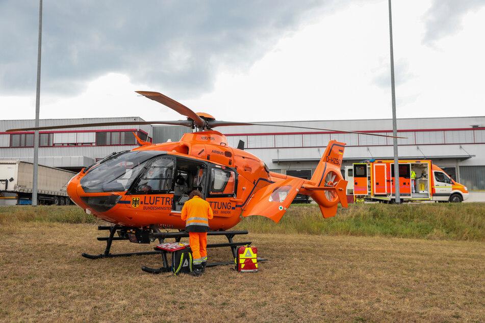 Der Arbeiter wurde mit lebensgefährlichen Verletzungen in eine Spezialklinik gebracht, wo er am Folgetag starb.