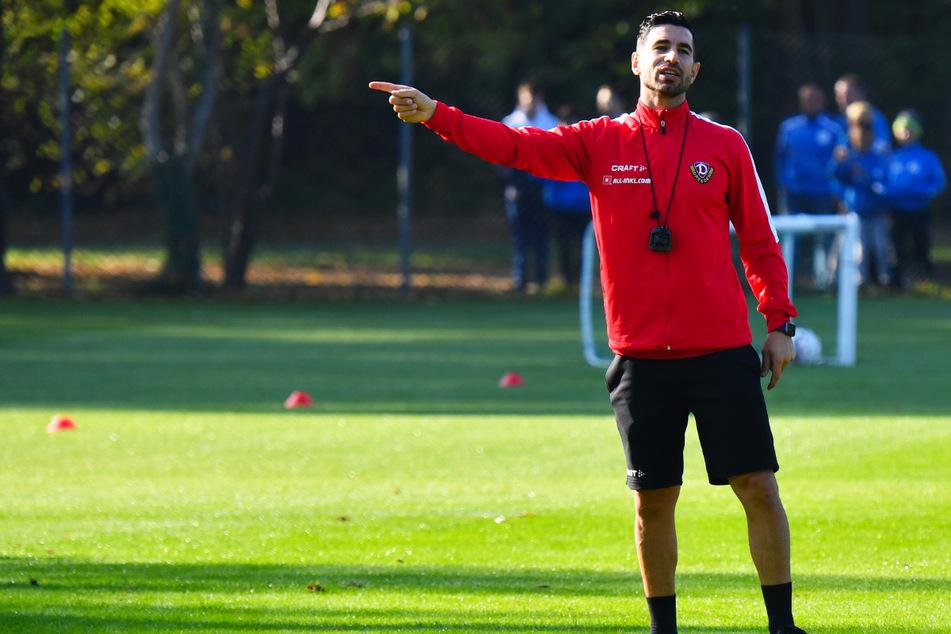Ovid Hajou (37) war bei Dynamo Dresden nur etwas mehr als fünf Monate im Amt.