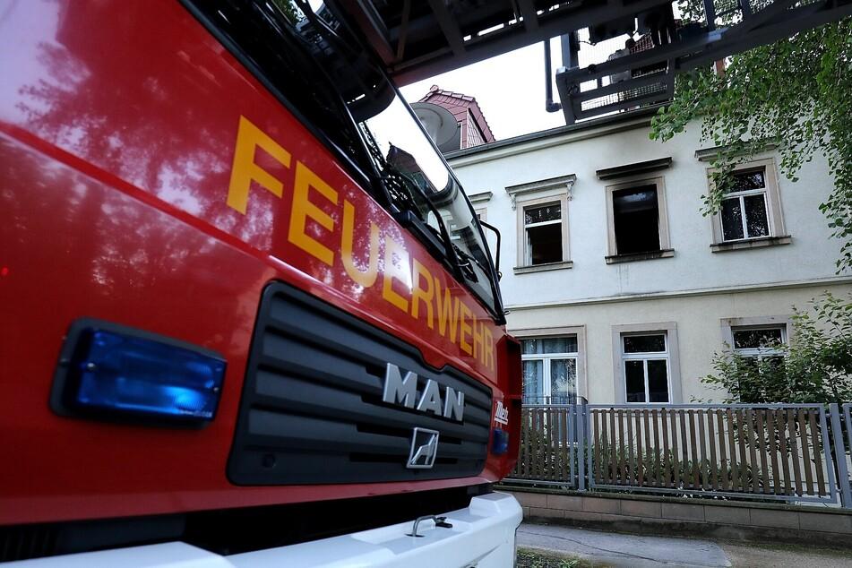 Die Feuerwehr war schnell vor Ort und konnte den Brand löschen.