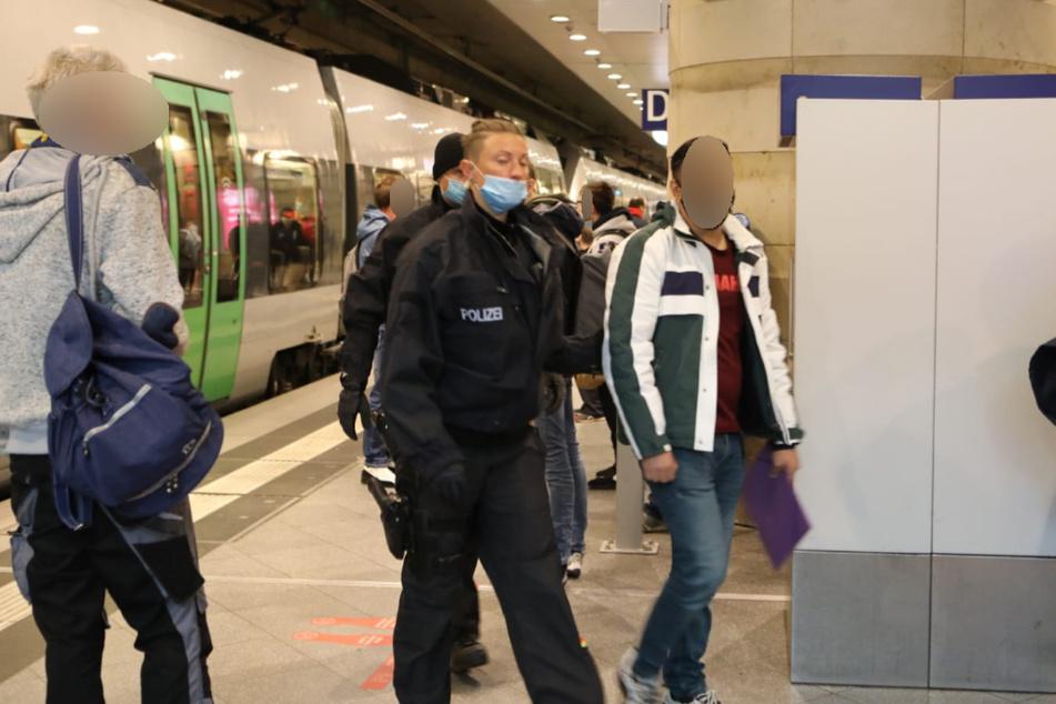 Mehrere Haftbefehle wurden am Leipziger Hauptbahnhof vollstreckt.