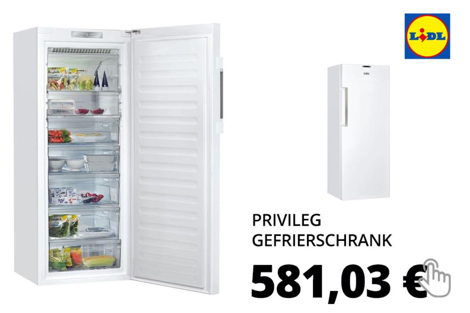 Privileg Gefrierschrank PFVN 84 A+++