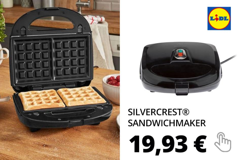 SILVERCREST® Sandwichmaker