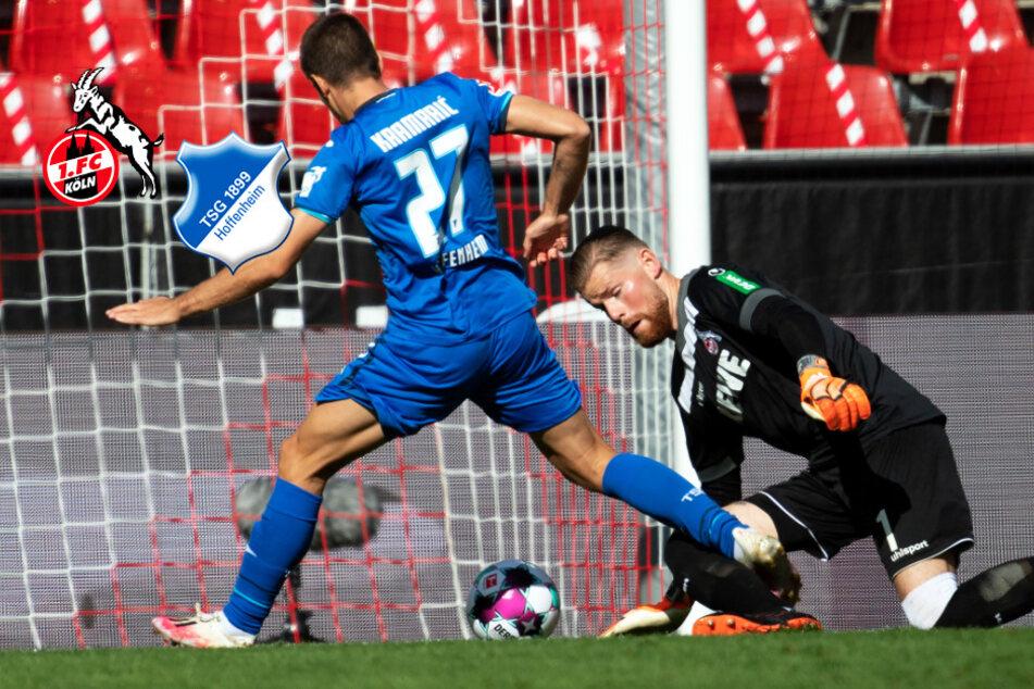 Anderssons Tor ist zu wenig: 1. FC Köln vergeigt Start gegen Hoffenheim