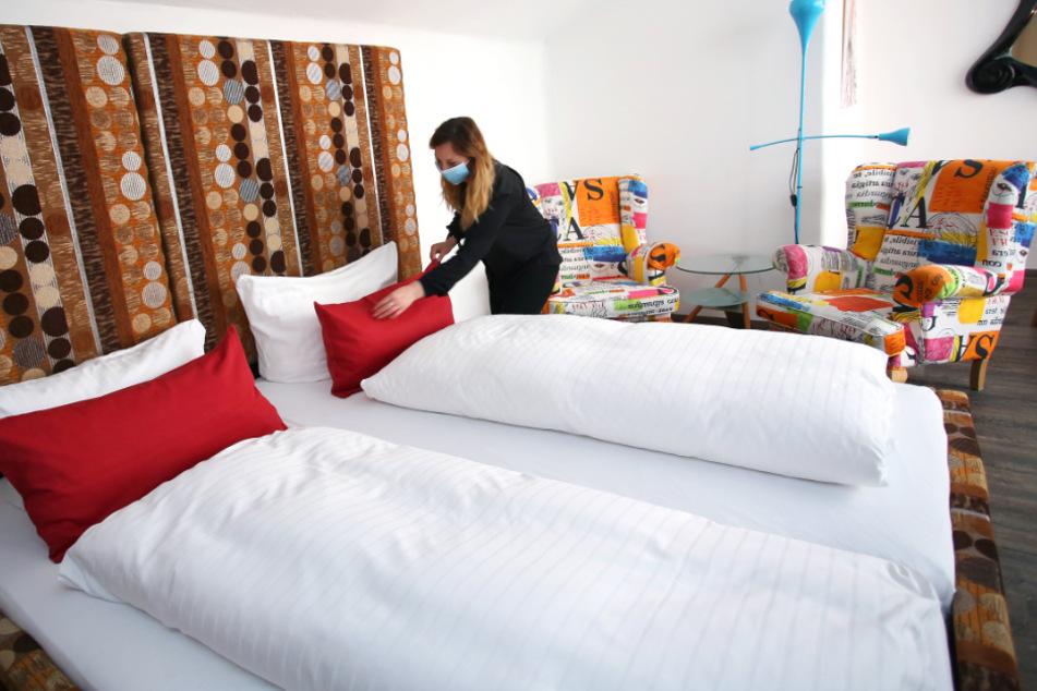 In Sachsen-Anhalt dauert es noch bis zum 28. Mai, bis Hotel-Unterkünfte wieder öffnen dürfen.