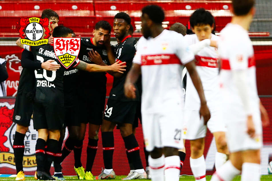 VfB-Blamage! Stuttgart geht bei Bayer Leverkusen unter