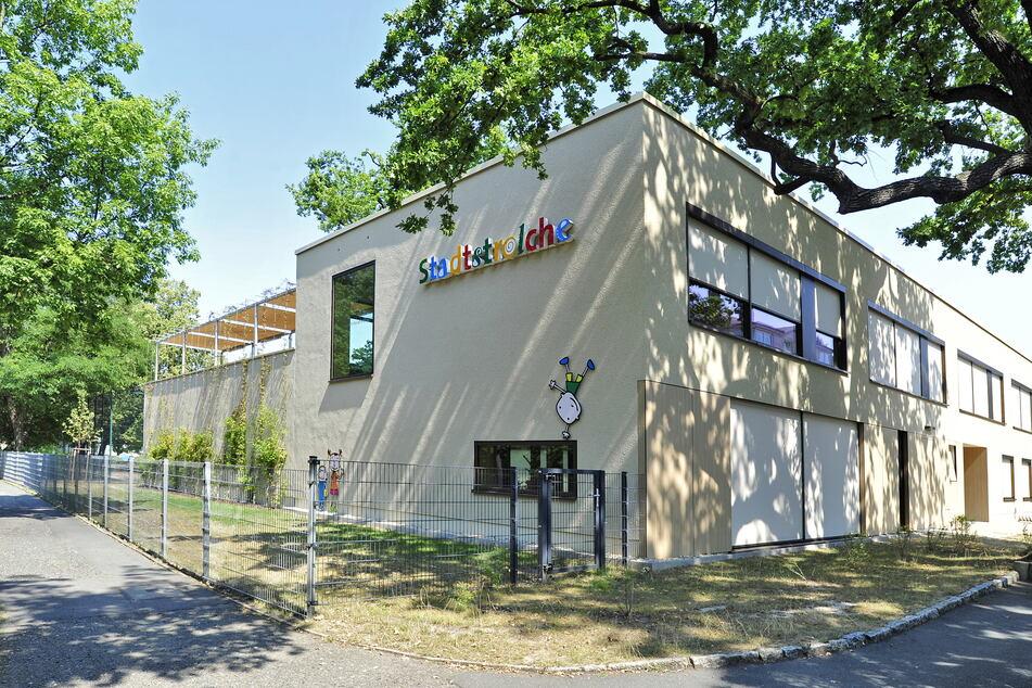 """Auch die städtischen Kindergärten in Zwickau wie die """"Stadtstrolche"""" öffnen am Freitag nur für Notfälle."""
