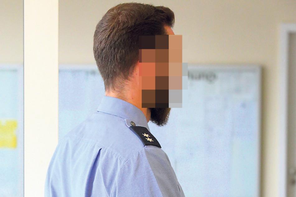 Oberkommissar Max S. (26) wurde im Dienst angegriffen.