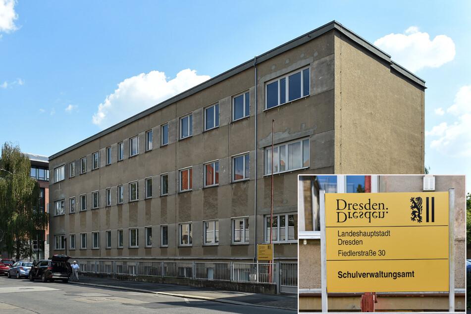 Oje! Nach dem Technischen Rathaus und verschiedenen Kitas wurden auch noch im Schulverwaltungsamt in der Fiedlerstraße giftige Substanzen entdeckt.