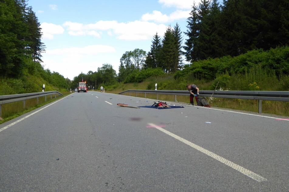 Die S258 musste während der Unfallaufnahme bis etwa 11.30 Uhr voll gesperrt werden.