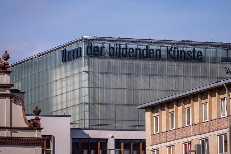 Das Museum der bildenden Künste in der Leipziger Innenstadt. (Archivbild)