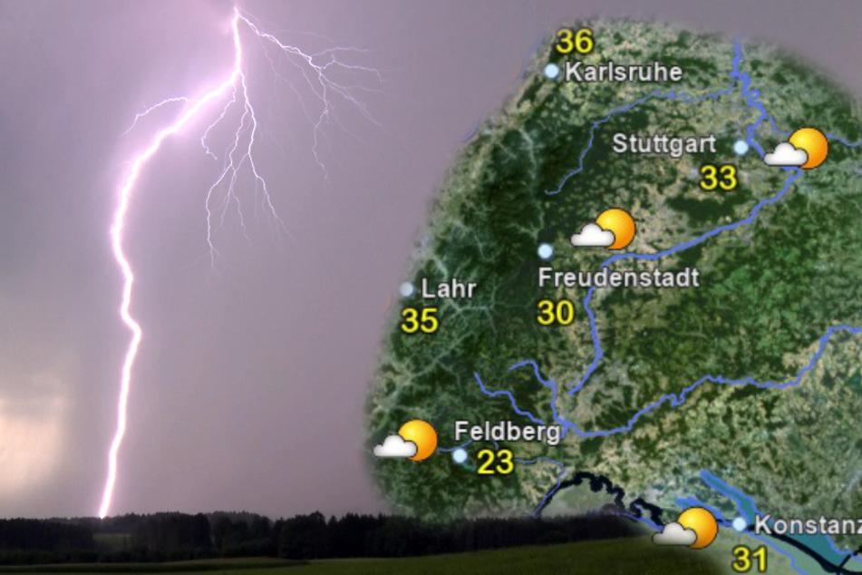 Heftiges Wetter erwartet uns: Kräftige Hitzegewitter im Anmarsch!